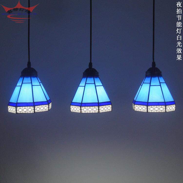 Здесь можно купить  Simple and stylish pendant lamps handmade European style Tiffany lamp bedroom den reception desk lamp LED light bar  Строительство и Недвижимость