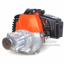 Buy 43cc 2-stroke Motor Gas Scooter Engine Gear Box 20T T8F Sprocket Electric Start Version DIY Engine for $91.04 in AliExpress store