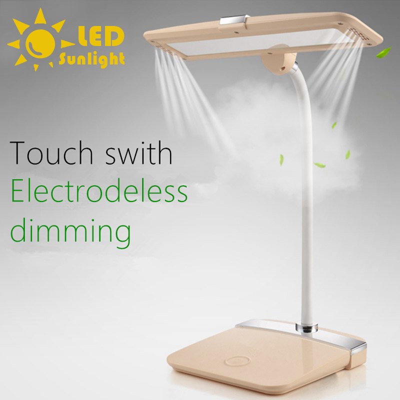 Touch switch Electrodeless dimming 5000K warm light Flexible bending LED desk lamp protect ones eyes Reading, learning, work<br><br>Aliexpress