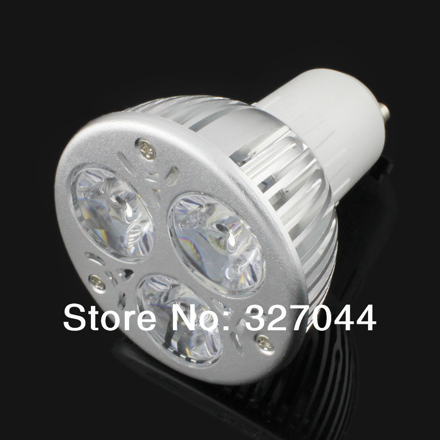 10pcs/lot china new innovative product 3*3W low voltage DC to drive led spot lamp gu10 spotlight(China (Mainland))