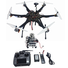 Assembled Full Set Drone RTF HMF S550 Frame GPS APM2.8 Flight Control with Compass AT10 TX/RX 2-axis Gimbal F08618-L(China (Mainland))