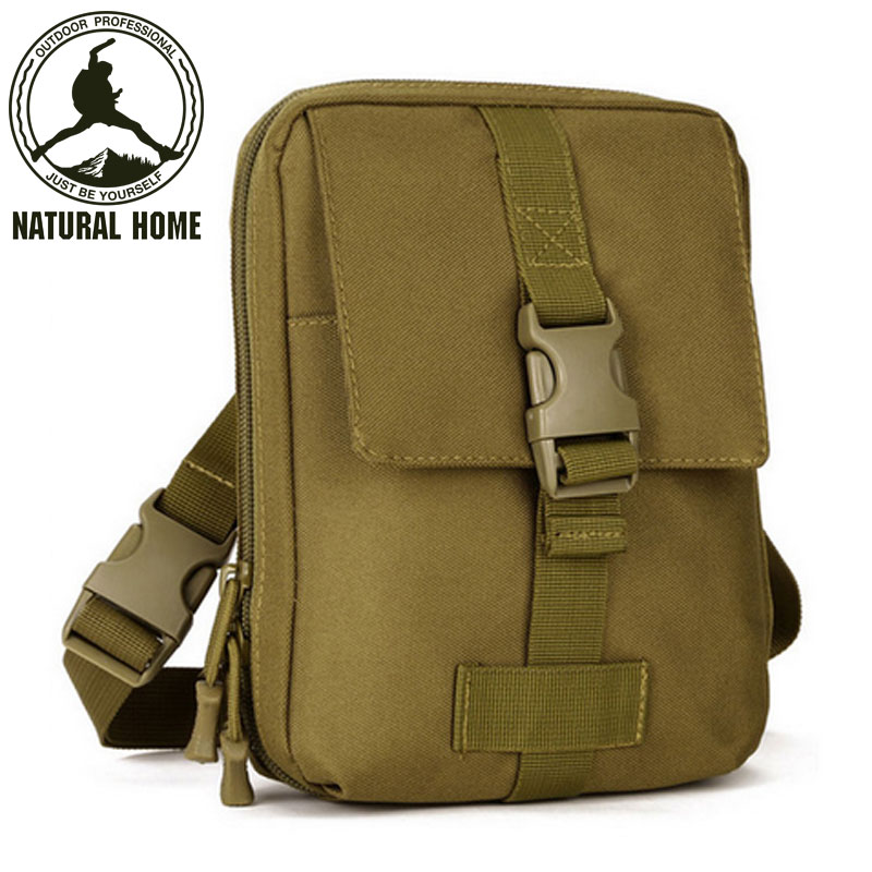 [NaturalHome] Brand Military Pack Tactics Men Outdoor Sport Bag Special Waterproof Hiking Thigh Pouch Women Bags(China (Mainland))