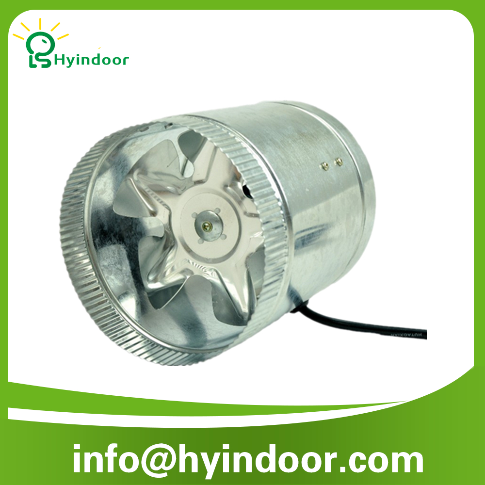 6 Duct Booster Fans Quiet : Quot inline duct booster fan cfm cooling exhaust blower