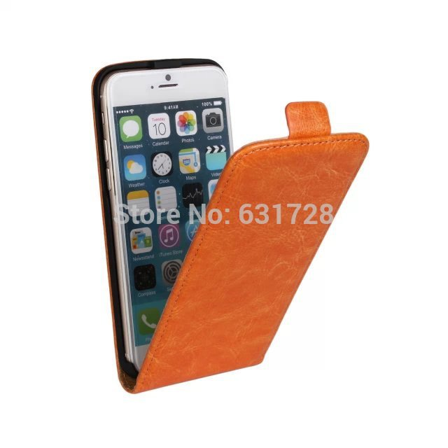 For Iphone 6 6G Plus 4.7'' Inch Best Quality Flip Open PU Leather Cover Case Vertical Mobile Phone Bag With Perfect Buckle(China (Mainland))