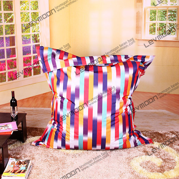 FREE SHIPPING garden bean bag cover water proof bean bag 140*180cm colorful striped bean bag beanbag seat adult  lazy chair<br><br>Aliexpress