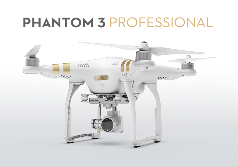 100% Original DJI Phantom 3 Professional Drone FPV RC Quadcopter with 4K Camera GPS Drone RC helicopter