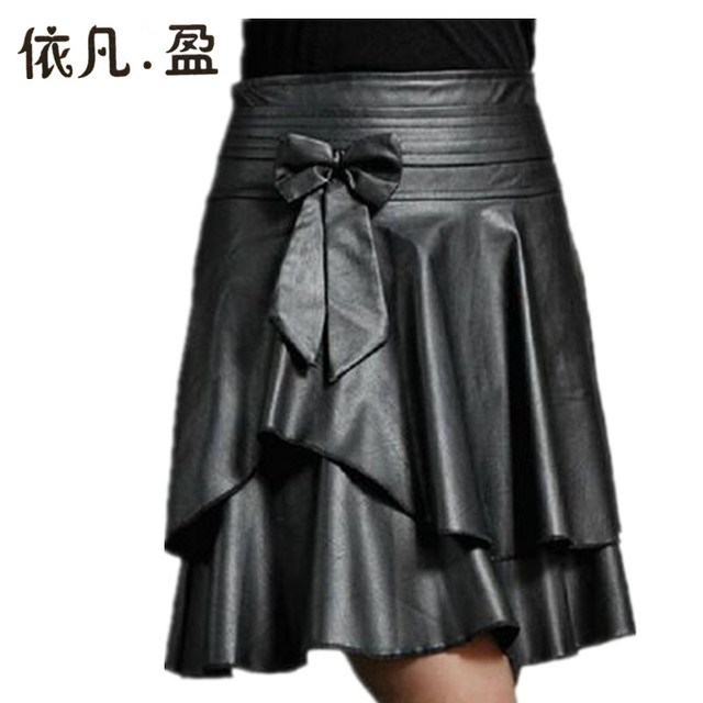 drop shipping new fashion winter pleated pu leather