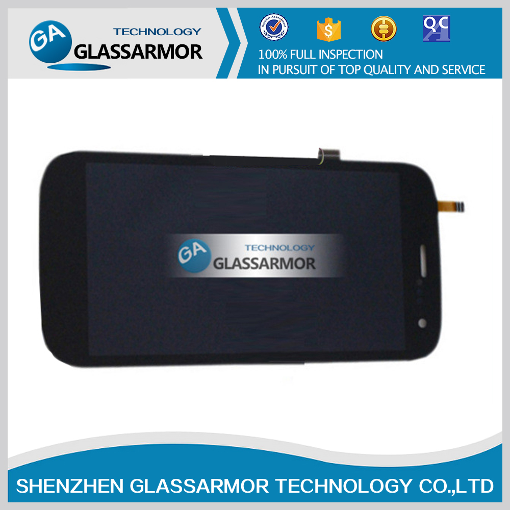 GLASSARMOR For Micromax A117 X-Tremer Darknight LCD Display + Digitizer Touch Screen Replacement Cell Phone Parts Free shipping(China (Mainland))