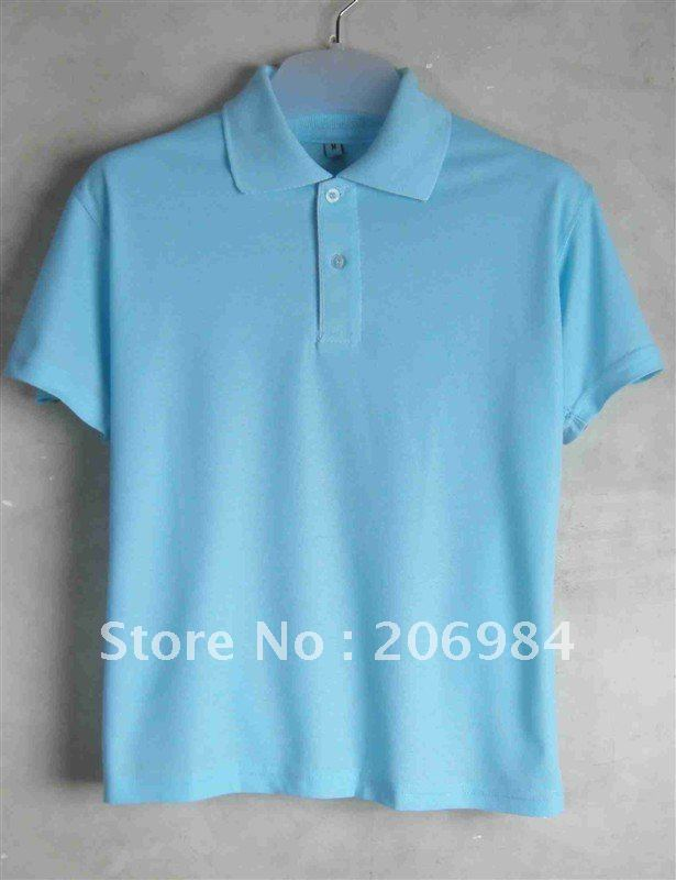 Promotional polo shirt custom logo for advertisement for Custom logo t shirts no minimum
