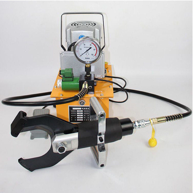 CPC-105C Electric Hydraulic Cable Cutter cut 105mm armoured Cu/Alu cable(China (Mainland))