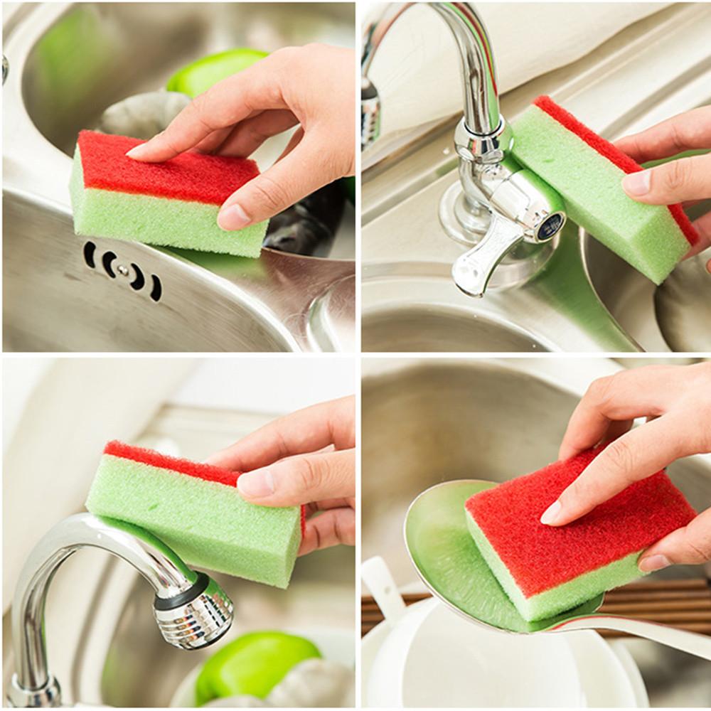 10PCS Cleaning Sponges Universal Sponge Brush Set Kitchen Cleaning Tools Helper(China (Mainland))