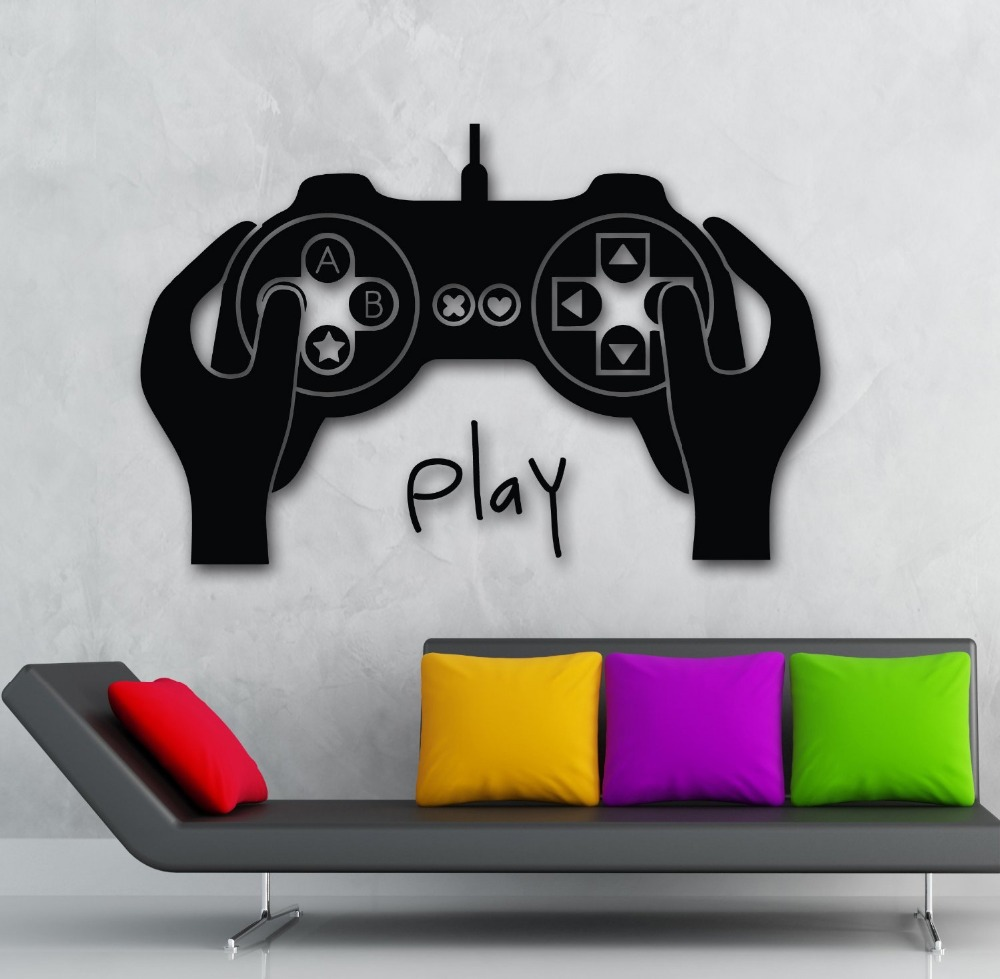 Popular xbox wall decal buy cheap xbox wall decal lots for Decoracion gamer