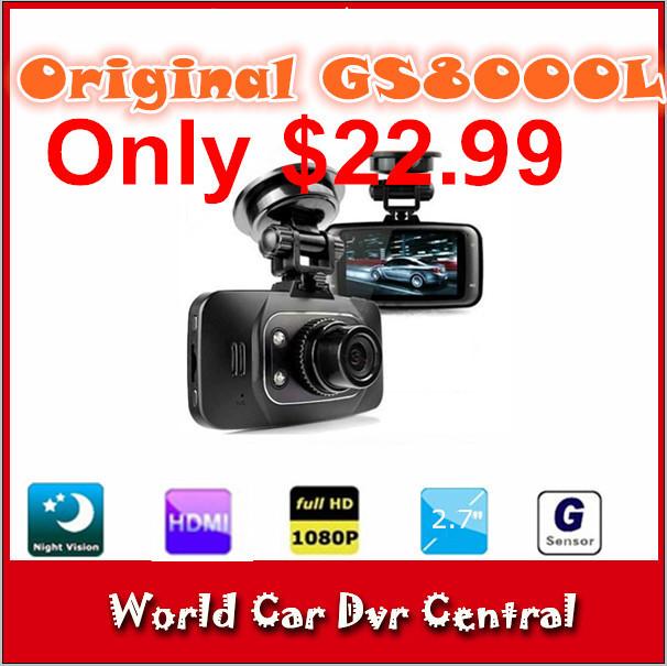 Автомобильный видеорегистратор None DVR 100% GS8000L H18B автомобильный видеорегистратор none dvr 100% gs8000l h18b
