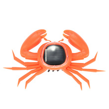 Cute Crab Solar Powered Crab New Mini Children Solar Toy Kids Educational Toy Best Gift(China (Mainland))