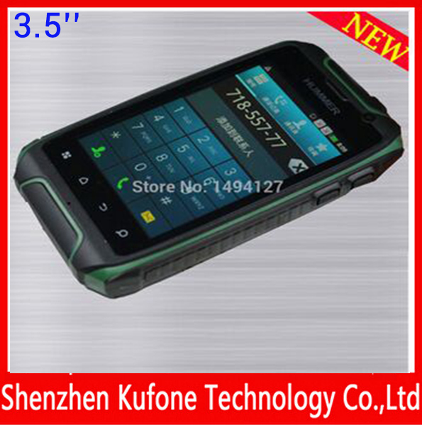 hummer h1 with MTK6572, single core,Wifi,GPS,5MP camera,lowest price china android phone,3.5 inch mobil telefon(China (Mainland))