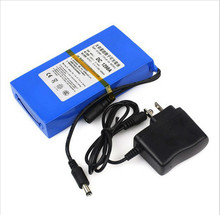 new dc 12 in a 9800 much lithium ion super battery and charger(China (Mainland))