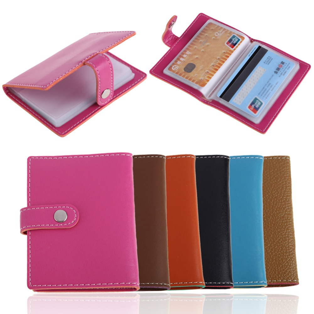 Aliexpress Buy New Arrival PU Leather Card Holder