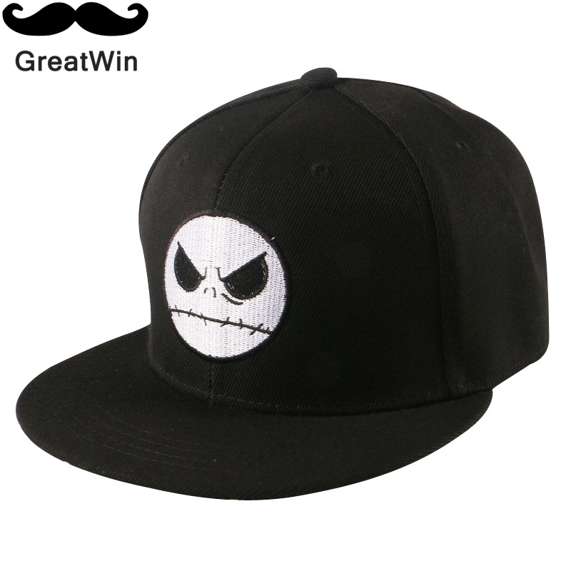new fashion men women brand snapback custom monster pattern flat peaked sports cap boys girl hip hop baseball caps adult gorras(China (Mainland))