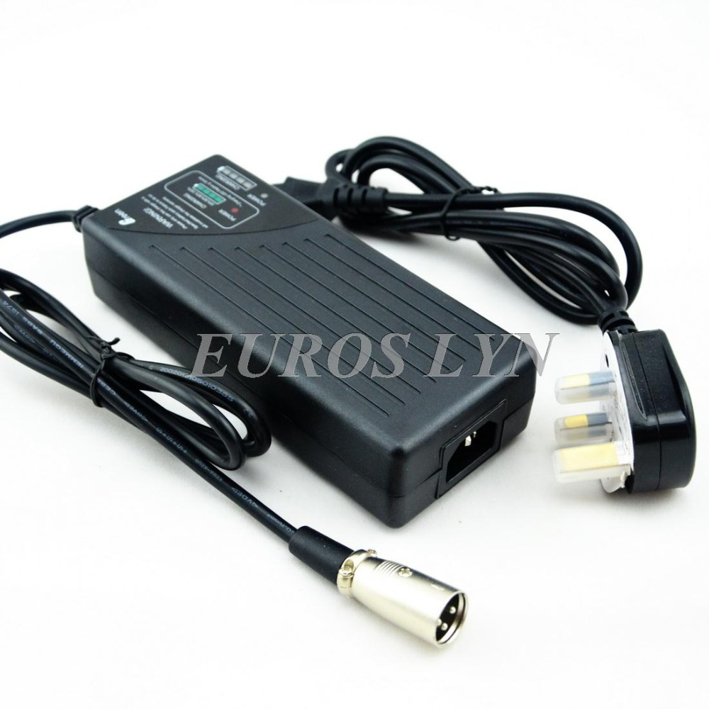 24V 2.8A NiMh/NiCd battery charger with fuel gauge for 20S 24V NiMh/NiCd battery packs, with UK plug(China (Mainland))