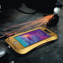 hot selling funda case for iphone 5 5s SE Love mei 6 Colors Weatherproof Metal Alloy Mobile phone case for iphone 5/5s/SE