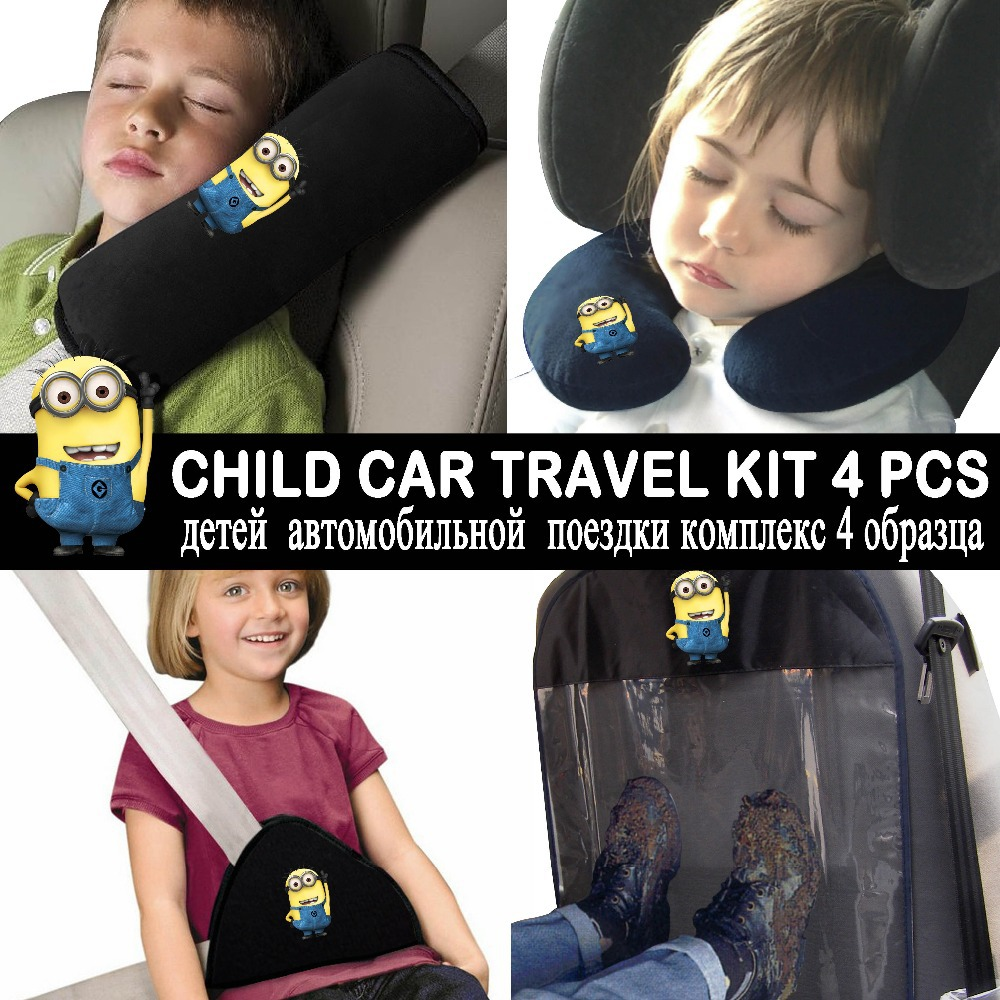 Buy DESPICABLE ME MINION CAR TRAVEL KIT FOR BABY SEAT