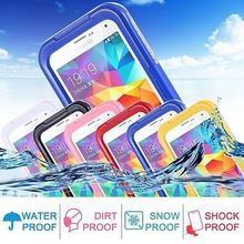 Swimming Waterproof Shockproof Phone Case Cover for iphone4S 4G and for iphone5S 5G 100% Underwater Waterproof