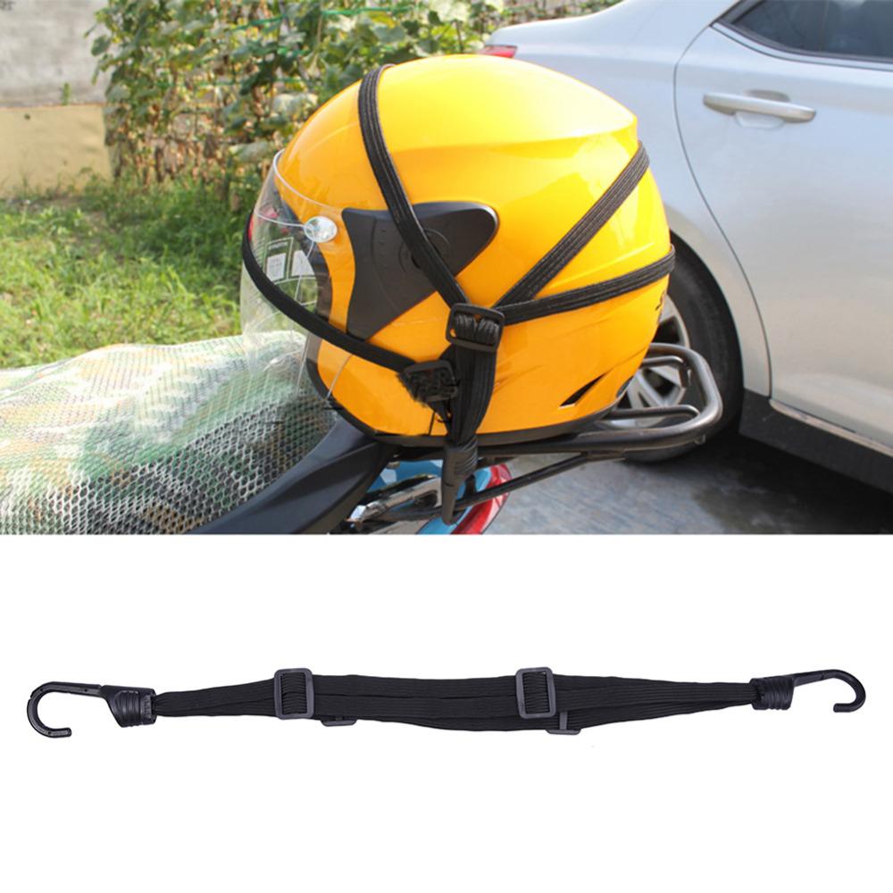 High quality 60cm Universal Helmets net rope Luggage mesh bag Premium Elastic bandage Motorcycle helmet Net bag