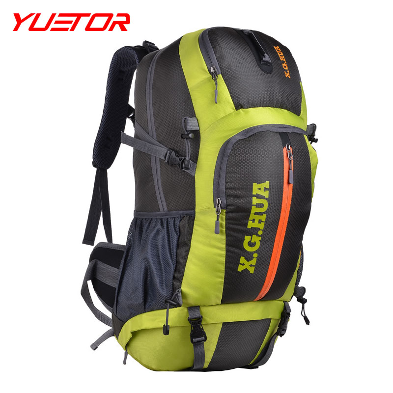 BRAND YUETOR  PROFESSIONAL 50L outdoor hiking climb bag for men  travel tactical backpack alpinismo of sporting equipment <br><br>Aliexpress