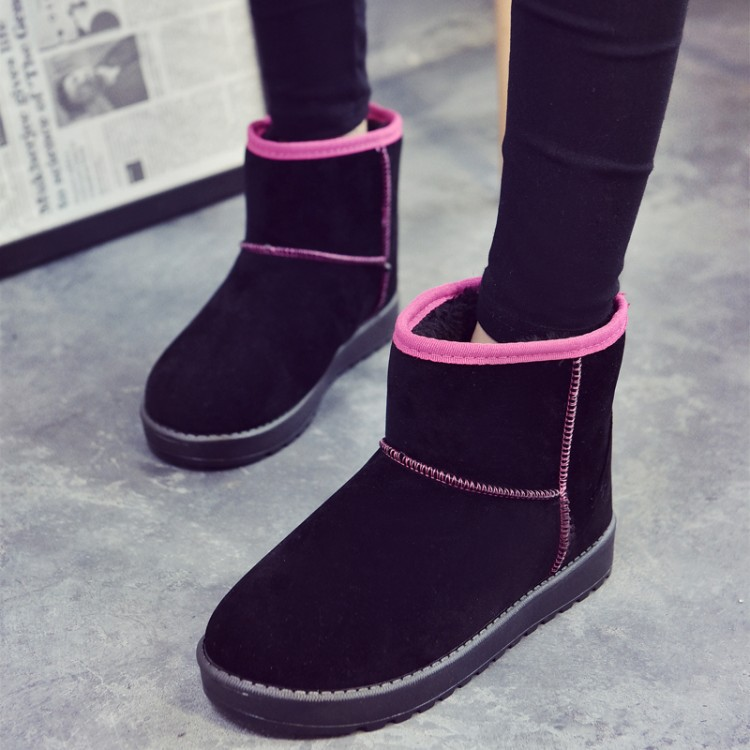 Wholesale manufacturers Women Snow Boots new fashionable casual and comfortable soft soled boots women shoes(China (Mainland))