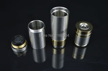 1pc Nemesis Mod full Mechanical VS king Manhattan Panzer mods high quality Nemesis mechanical Mod ss gold color