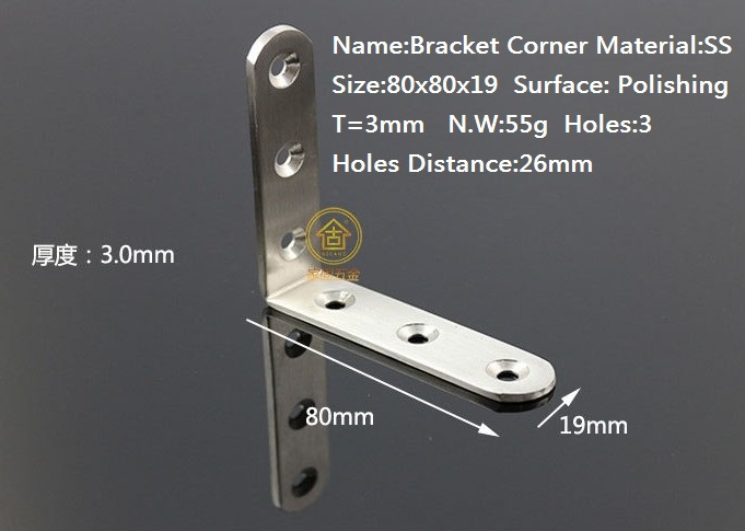 stainless steel corner bracket  at good price and fast delivery free shipping <br><br>Aliexpress