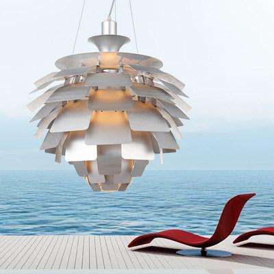 online kaufen gro handel wei artischocke lampe aus china. Black Bedroom Furniture Sets. Home Design Ideas