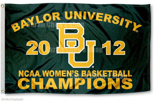 Baylor University Womens Champions Flag and Banner(China (Mainland))