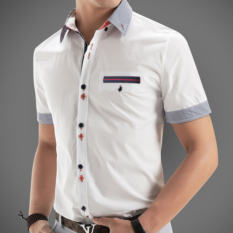 new 2014 italian dress shirts men 39 s blouses short sleeve