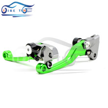 Buy New High Motorcycle Accessories CNC Pivot Brake Clutch Levers green KAWASAKI KDX 125 SR 1990 1991 1992 1993 1994 for $26.07 in AliExpress store
