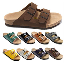 Топ новое мода аризона мужчины плоские сандалии платформы свободного покроя пряжки ...