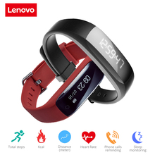 Buy Original Lenovo HW01 Smart Bracelet Bluetooth 4.2 Heart Rate Moniter Pedometer Sports Fitness Tracker Android iOS pk mi band for $24.20 in AliExpress store