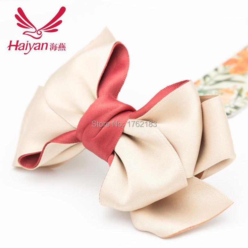 Floral Fashion Women Nylon Adult Barrettes Hair Clip 2015 New Handmade Madam Butterfly Hairpin Her Headwear Senior Fabric(China (Mainland))