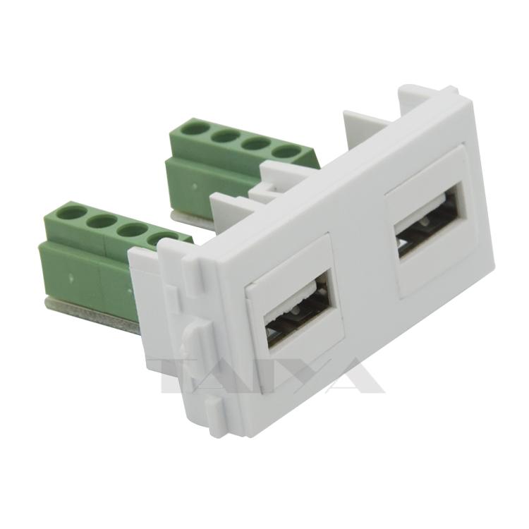 Aliexpress buy keystone usb wall plate connector