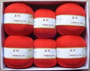 Wholesale! Luxury Tibet Cashmere Wool Knitting Yarn Skein Lot Fine 28 Colors!(China (Mainland))