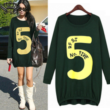 Women Hoodie Dress 2016 Spring Autumn Women Sweatshirt Hoodie Long Sleeve Shift Dress Plus Size Casual Sport Dress Vestidos