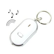 Versandkostenfrei! Führte key finder locator finden verlorene schlüssel kette schlüsselanhänger pfeife Klangregelung dropshipping(China (Mainland))