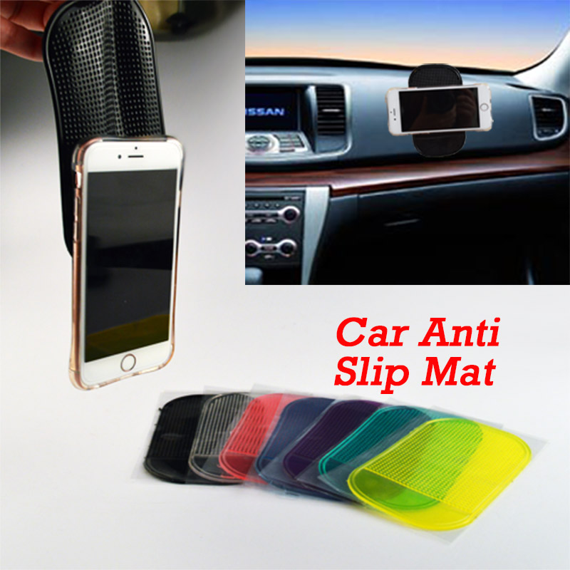 Car Anti Slip Mat Non-slip Sticky For Mobile Phone/mp3/mp4/GPS/Pad/ Free Shipping 1 PCS Automobile Interior Accessories(China (Mainland))