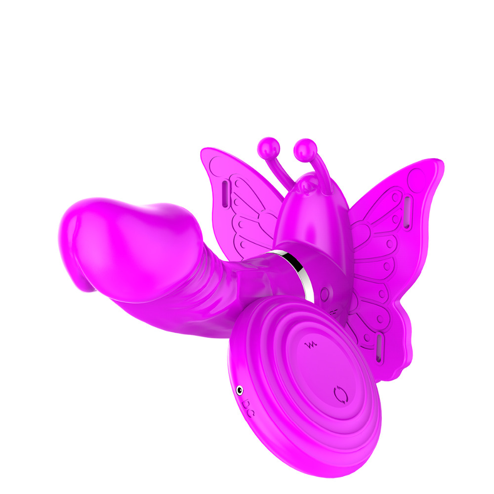 Rechargeable 100% Waterproof Wireless Remote Control Butterfly Dildo Panties Vibrator 360 Rotation Rotating Vibrator Sex Toy<br><br>Aliexpress