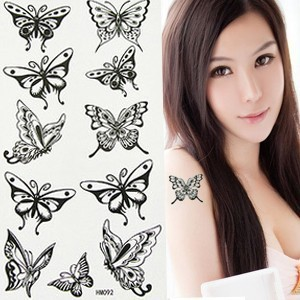 Free delivery Tattoo stickers waterproof Tattoo sticker female sexy rose Tattoo paper Tattoo paper mm043