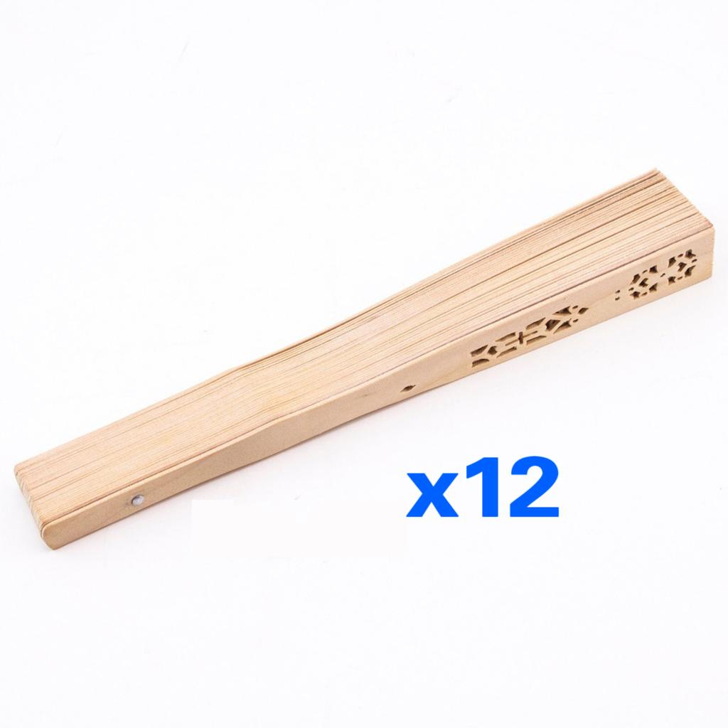 PHFU!Summer Vintage Folding Bamboo Wooden Carved Hand Fan Wedding Bridal Party<br><br>Aliexpress