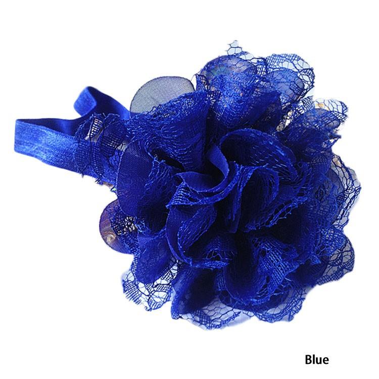 Новые Горячие Продажи Модные И Популярные Дети Цветочные Hairband 11 Цветов Для Выбора груза падения
