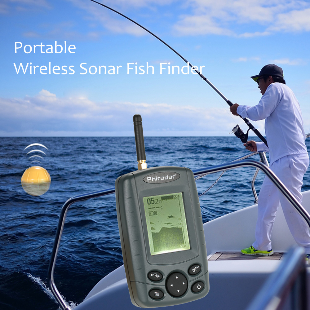 portable depth and fish finder