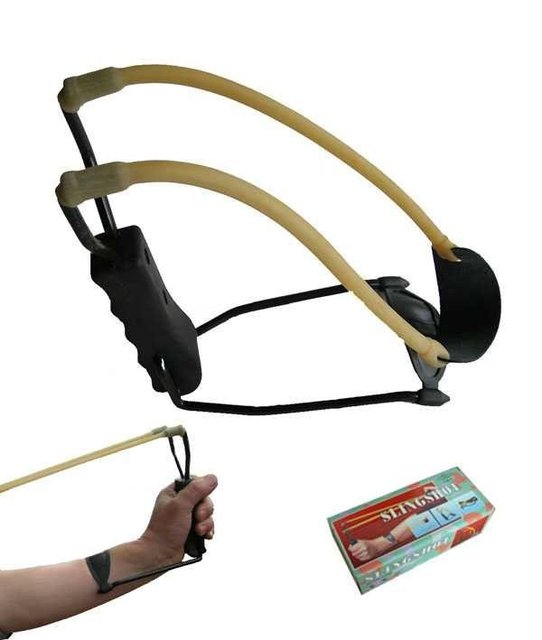 Wholesale 10pcs/lot Folding Wrist slingshot,catapult,hunting equipment,toy bird bow,arrow