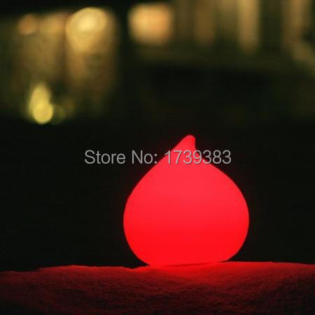 Free shipping All Weather Remote control  Dew LED round water drop glowing Light Dew Waterproof colorful LED Indoor Outdoor Lamp<br><br>Aliexpress